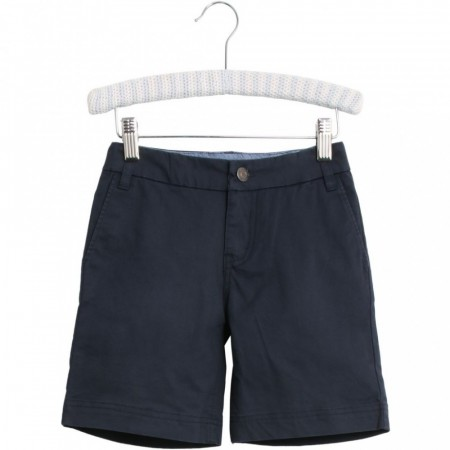 Wheat - Casper chino shorts, navy