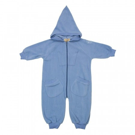 MeMini - Bunny fleecedress, sky blue