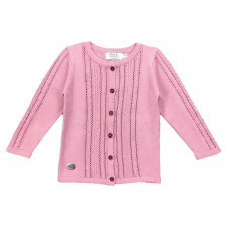 Mole Of Little Norway - Siri cardigan, dark rose