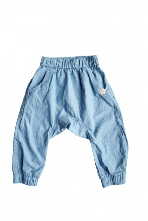 By Heritage - Carl bukse, solid chambray blue