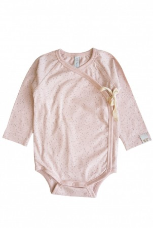 By Heritage - Elna wrap body, print peach pink