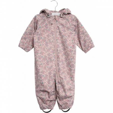 Wheat - Softshell dress baby, rose powder