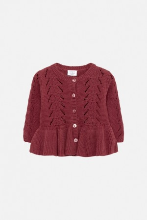 Hust & Claire - Carna cardigan, purple fig