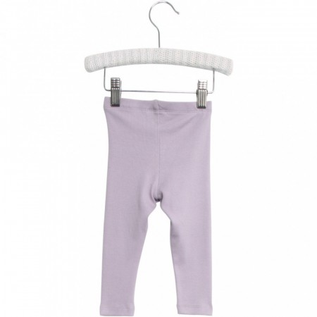 Wheat - Rib leggings baby, soft lavender