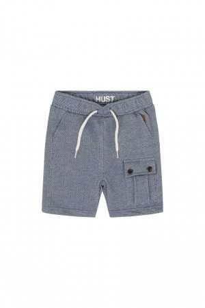 Hust & Claire - Hjalte bermudashorts, blue moon