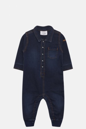 Hust & Claire - Mars heldress, denim blue