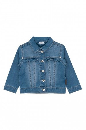 Hust & Claire - Elsa jakke, washed denim