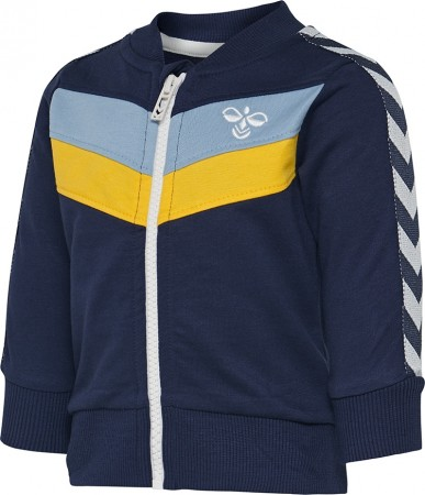 Hummel - Alonso zip jakke, black iris