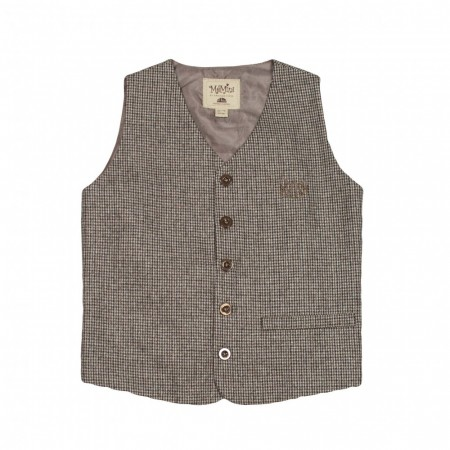 Memini - Felix vest checked