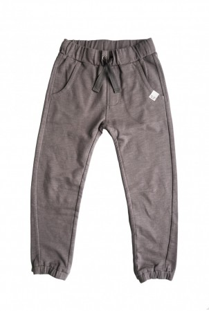 By Heritage - Arvid trousers, dark warm grey