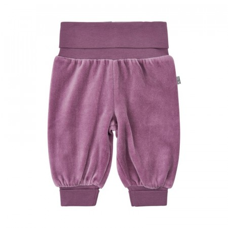 Me Too - Velour bukse, purple gumd